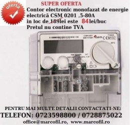 contor electronic