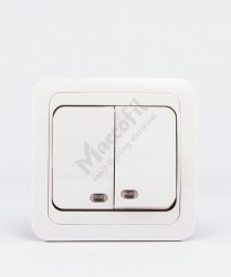 Comutator ST cu LED , ECO
