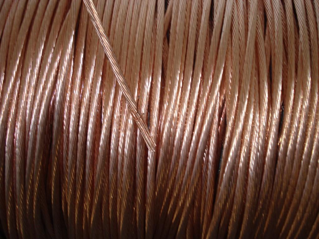 Funie de cupru 50 mm², clasa 2